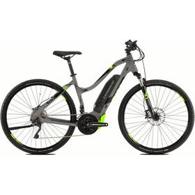 HAIBIKE SDURO Cross 4.0 E-crossbike Damer grå/sort